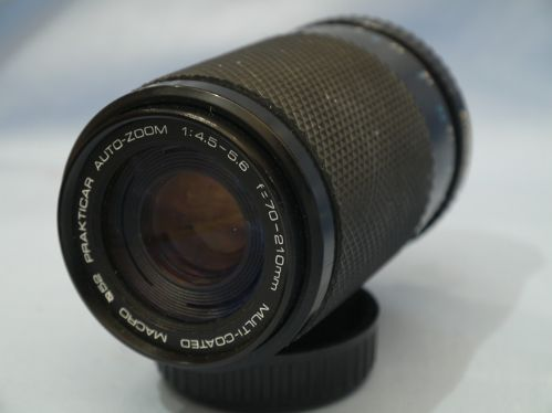 70-210mm 4-5.6 Praktica PB Fit Zoom Macro Lens £9.99